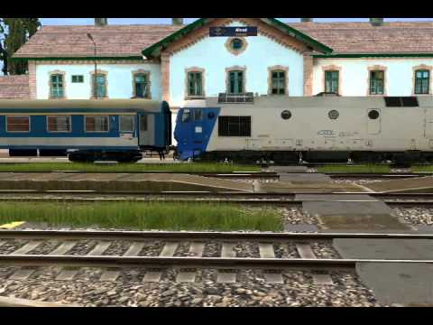 Trainz Romania Iesire Din Gara Alesd Youtube