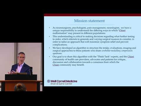 Chiari Malformation & Neurocognition - Dr. Jeffrey Greenfield & the ChiariCARE Neurocognitive Team