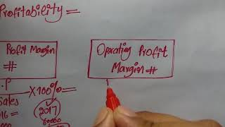 Gross PROFIT MARGIN and OPERATING profit Margin ratios.