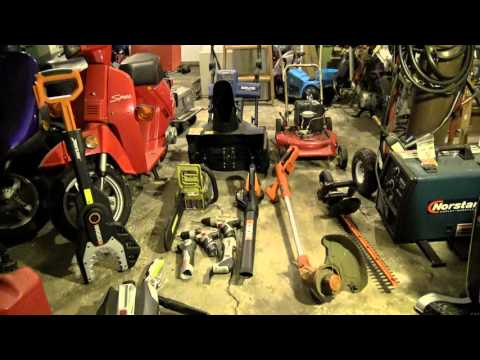 Tour of Kman's Battery Powered Tools and basic review & commentary.