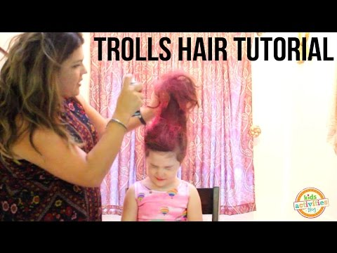 How to Create the Trolls Hairstyle