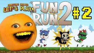 Annoying Orange - FUN RUN 2: CHEATERS ALWAYS WIN!!!