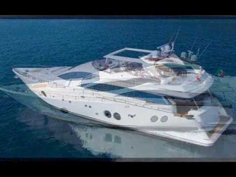 Charter Motor Yacht Aicon85 Fly in Greece and Italy.wmv
