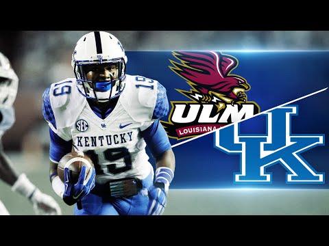 Kentucky Wildcats TV: Kentucky 48  Louisiana Monroe 14