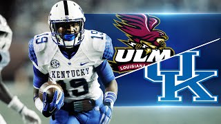 Kentucky Wildcats TV: Kentucky 48  Louisiana Monroe 14