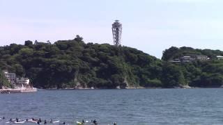 江の島の休日