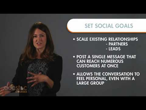 Goal #2 - Scale Relationships: Setting Goals - 6-Step Strategy To Profitable Social Media Marketing