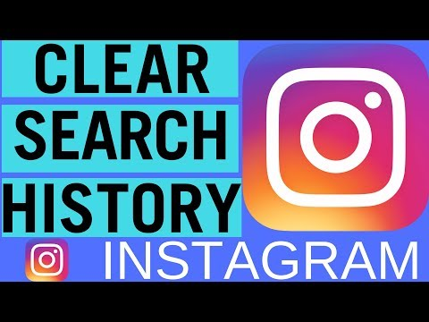 How to clear instagram search august