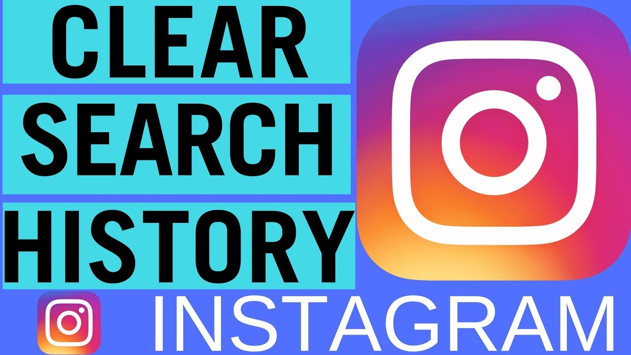 clear recent search instagram