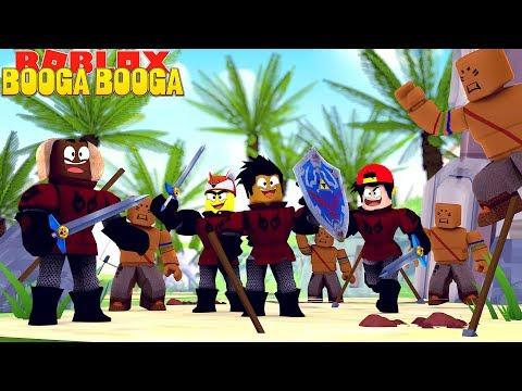 ROBLOX BOOG BOOGA - THE LITTLE CLUB DEFEND THEIR ISLAND TILL THE DEATH!!