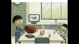 [English Learning Stories]-Funny Short Story ★ Hugo's school bag