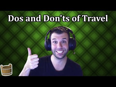 David Bond on the Dos and Don'ts of Travel