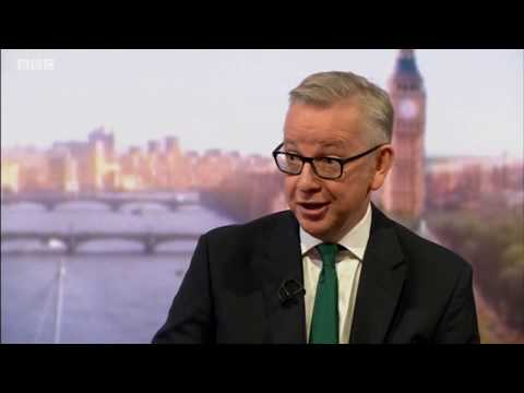 Gove: A future PM could alter Chequers