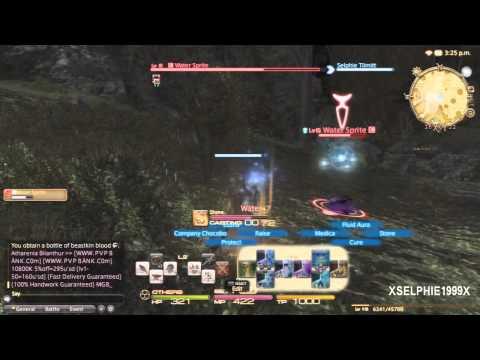Final Fantasy XIV A Realm Reborn - Conjurer Hunting Log (Rank 1 / 1-10)