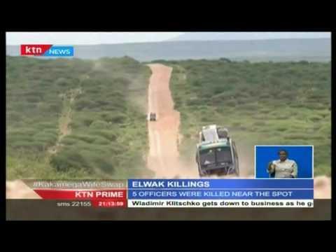 Bodies of four boys found dead in Eldama Forest, after an Al Shabab attack in Elwak, Mandera County