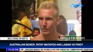 Australian Boxer Dead After Match