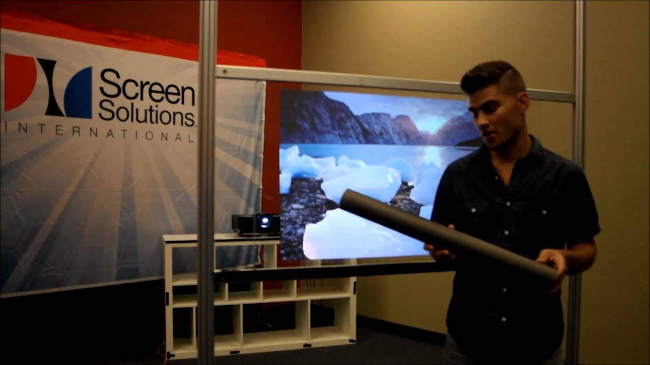 DIY Rear Projection Films. Rear Projection Film