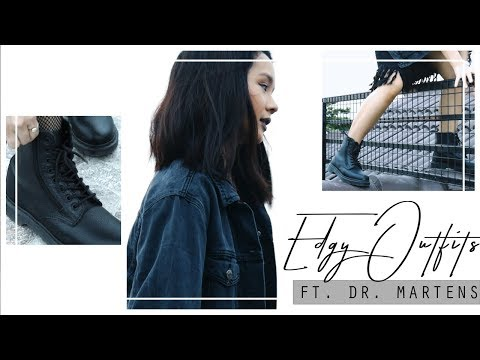 Edgy Outfit Ideas + How I Style Dr. Martens