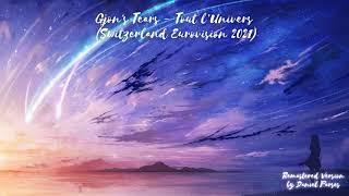 Gjon's Tears - Tout l'Univers (Remastered Version) (Switzerland Eurovision 2021)