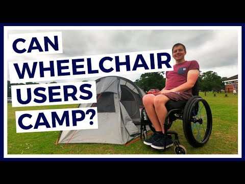 How Can You CAMP In A WHEELCHAIR - PARAPLEGIC TENT To WHEELCHAIR TRANSFER - Epsiode 19