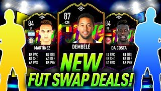 87 DEMBELE & 84 DA COSTA! *NEW* JANUARY FUT SWAP DEALS! FIFA 19