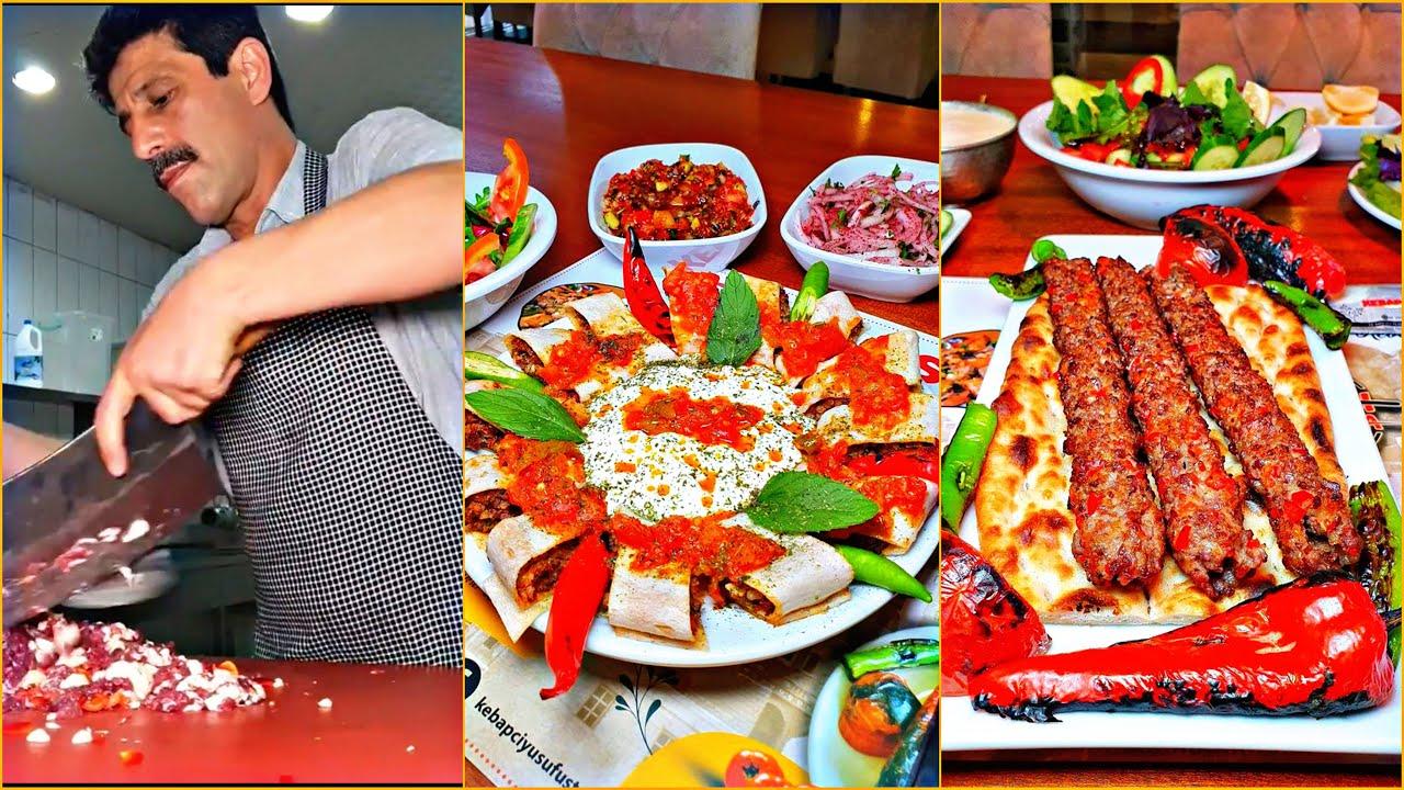 Turkish food street | Mardin Kebapçı Yusuf Usta