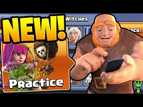 *NEW* PRACTICE MODE TEACHES YOU REAL ATTACKS! - Clash Of Clans