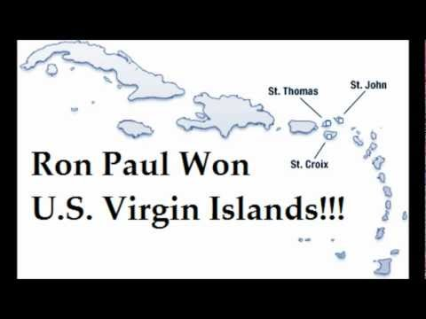 Ron Paul Won U.S. Virgin Islands with 29% Media Claims Romney Won! 3/11/12