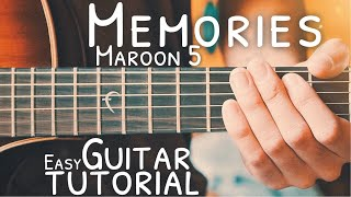 Memories by maroon 5 guitar tutorial // lesson for beginners! - grab a free capo! https://thegroovyguitardude.com/products/acoustic-...