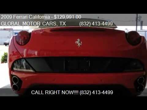 2009 Ferrari California Coupe for sale in HOUSTON, TX 77036. Global Auto Motors