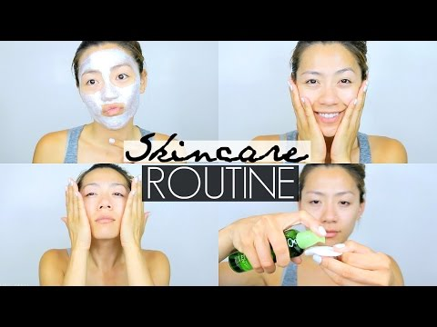HOW I GET CLEAR & GLOWY SKIN   Skincare Routine for Oily/Combination Acne Prone Skin - Summer 2016