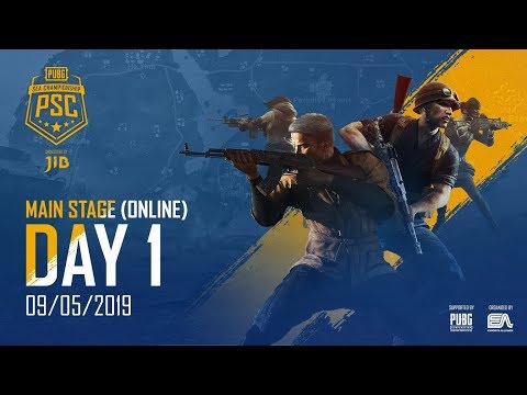 🔴PUBG SEA CHAMPIONSHIP 2019 - MAIN STAGE - DAY 1