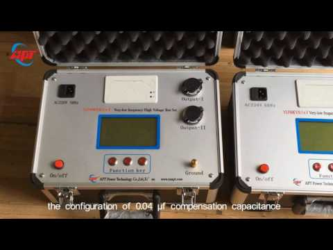 Introduction Of 80kV VLF High Voltage Testing Equipment