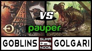 Pauper - GOBLINS vs GOLGARI CONTROL