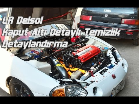 Delsol Motor Içi Detaylı Temizleme Külbütör Kapağı Boyama