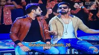 Ravi Dubey & Ankit Bathla dancing on Radio Song