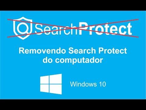 Como remover Search Protect do seu computador - Windows 10