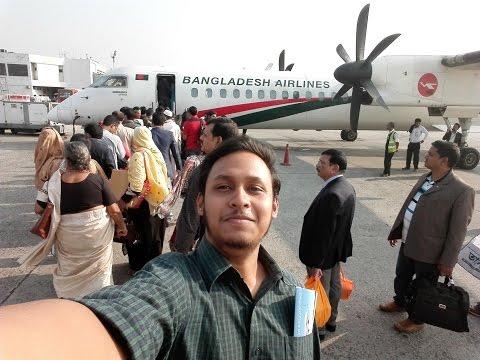 Dhaka to Rajshahi by Biman Bangladesh, VLOG#1