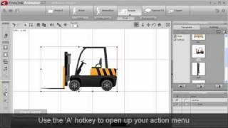CrazyTalk Animator Tutorial - iProp Action Menu and Sprite Library