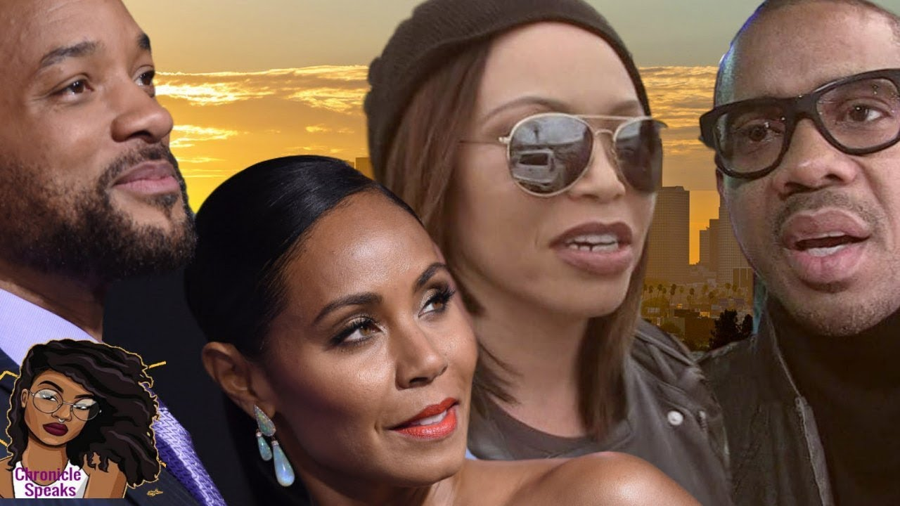 Tisha Campbell's Ex Duane Martin Used Will And Jada Pinkett-Smith For Bankruptcy Scam
