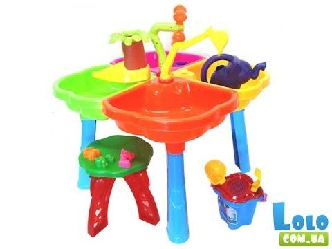 Столик для игры с водой и песком екатеринбург