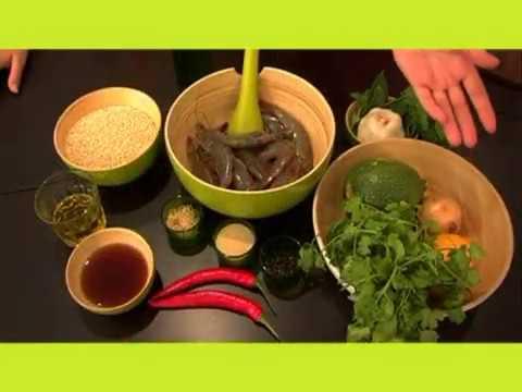 recette-crevettes-sautées-courgettes-et-quinoa
