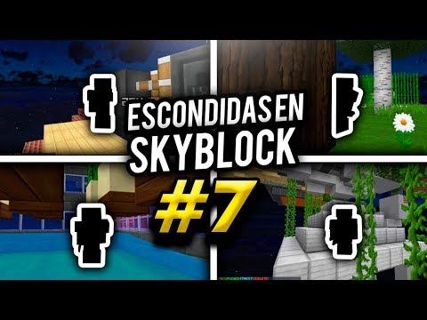 SI ME ENCUENTRAS GANAS!! - Skyblock con Hasvik #7