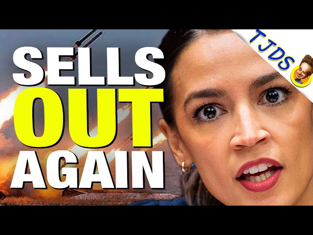 AOC's Word Salad Excuse For Selling-Out to Pelosi & Israel Lobby