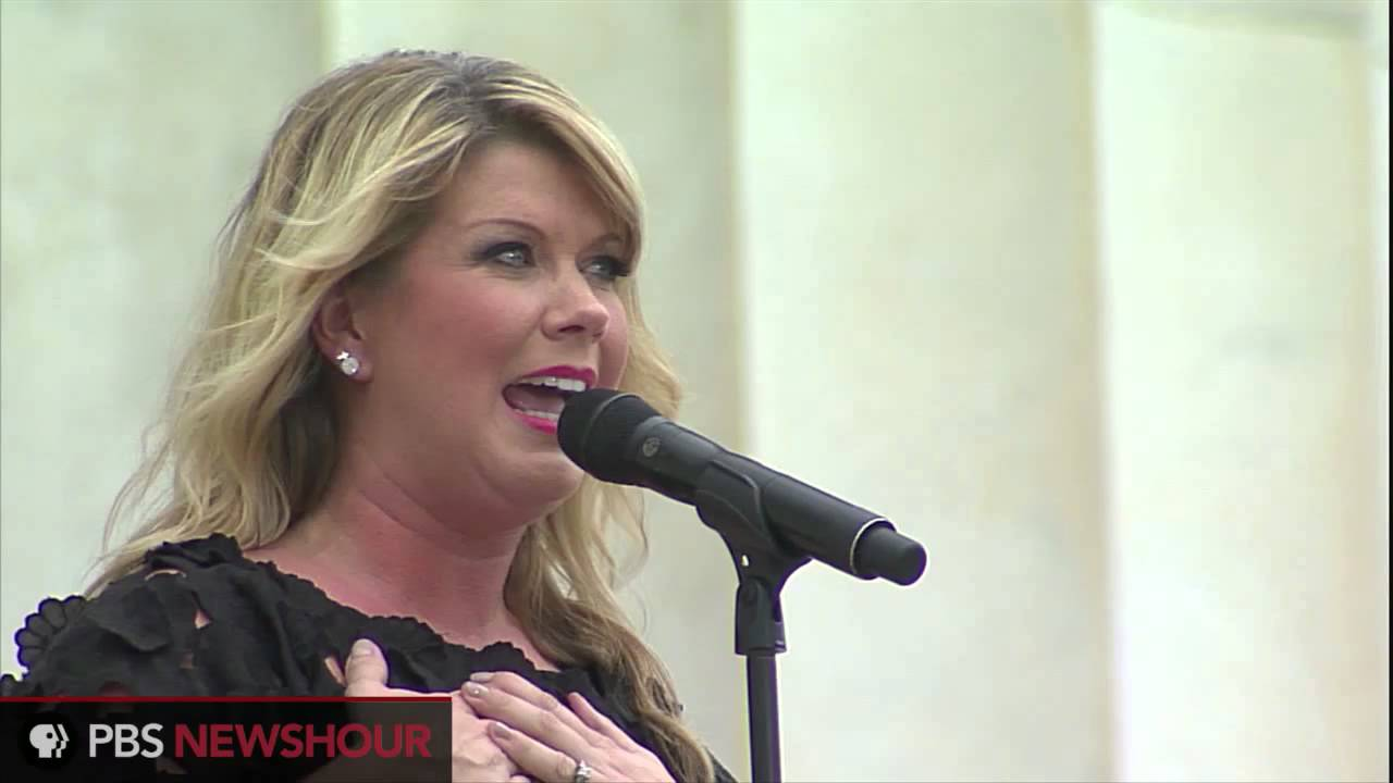Singer Natalie Grant Performs at March on Washington 50th ...