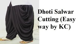 Dhoti Salwar Cutting
