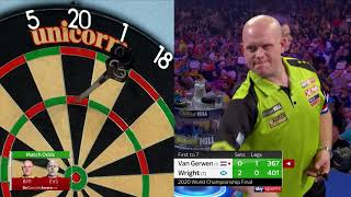 ALL WRIGHT ON THE NIGHT | Final | 2019/20 World Darts Championship