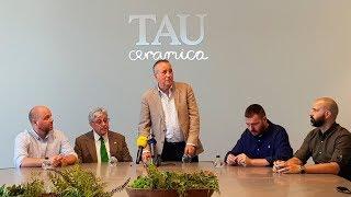 El TAU Castelló visita TAU Cerámica - 11 julio
