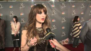 Juliet Simms | After Roxanne Performance | The Voice Season 2 Top 24