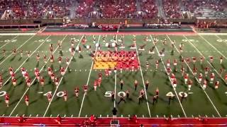 Pitt State Marching Band - Sept. 7th, 2013 (Halftime)